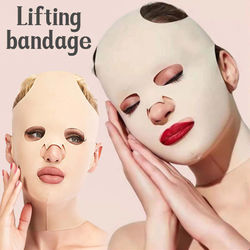 Face V Shape Facial Slimming Bandage Relaxation Lift Up Belt Shape Lift Reduce Double Chin Face Thining Band Massage Hot Sale