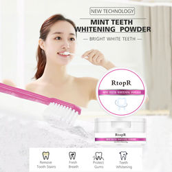 Teeth Whitening Flour Pearl Power Natural Dental Toothpaste Kit Oral Hygiene For Remove Stains Plaque Spots Power Oral Care