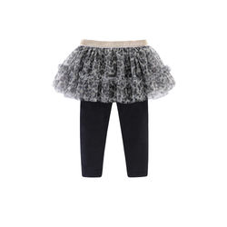 LittleSpring Baby Girls Clothes Sets Spring Autumn Long Sleeve T-Shirt Mesh Culottes Pants Outfit 2pcs Kids Clothes