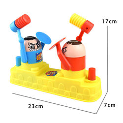 Kids Combat Battle Board Game mischief Toy Stress Release Interactive Pastime Hammer Hiding Game For Children Party Novelty Gift