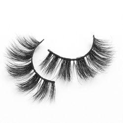 Makeup Natural 3D Mink Eyelashes Handmade Cruelty-Free False Lashes Wispy Fluffy Fake Eyelashes Vonder Wholesale