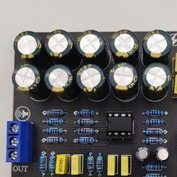 Dual NE5532 Replaceable Tone Preamp Board o Treble Bass Adjustment Equalizer Preamplifier Tone Control Preamplifier