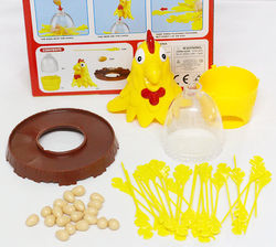Rooster Draw Game, Leisure and Entertainment Interactive Desktop Game, Animal Novelty Toys, New Parent-Child Game