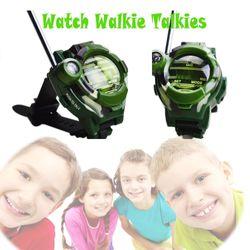 Kids' Walkie Talkies Mutifunctional Wrist Walky-Talky 3+ Mile Range Radio Transceiver Outdoor Interphone Toys Gifts