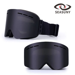 2020 Cross Border Hot Selling Outdoor Double Layer Anti-fog Ski Goggles Adult Cylindrical Vision Mountain Climbing Windproof Ski