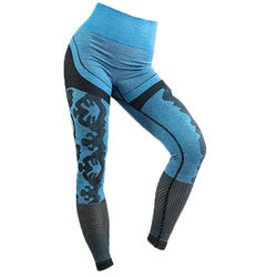 Seamless Yoga Pants Women Sports Fitness High-Waist Camouflage Hollow Leggings Running Sportswear Fitness Gym Workout Clothes