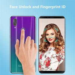 CUBOT X19 S Smart Phone 5.93 Inch Helio P23 Dual Sim Dual 4G Cellphone 4000mAh 16MP Camera Face ID Fingerprint Unlock Smartphone