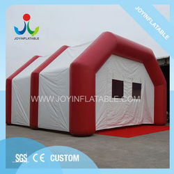Outdoor Red Event Inflatable Spider Tunnel Wedding Tent with Waterproof and Fire Resistant For Sale