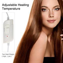 Winter Hair Styling Adjustable Heating Steamer Nourishing Thermal Treatment Baking Oil Cap Hair Mask Spa Home Salon Hair Care