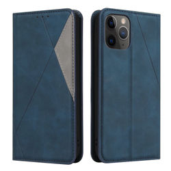 Wallet Flip Case For Apple iPhone 11 12 Pro XS Max 8 6 7 Plus For iPhone X XR SE 2020 Fashion Business Mixed Color Phone Case