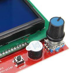 Intelligent Digital LCD 12864 Display 3D Printer Controller for RAMPS 1.4 Reprap 3D Printer Accessories Module ACEHE