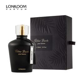 LONKOOM 100ml Original EDT Perfume For Lady Floral-Fruity Fragrance Women's Eau De Toilette Female Antiperspirants Deodorants