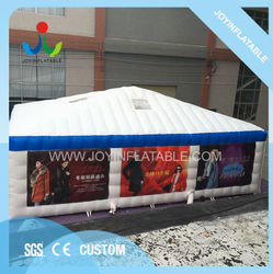 PVC Cube Inflatable Event Party Tent Permanent Use Waterproof