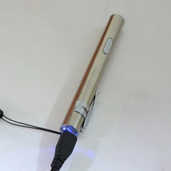 USB Rechargeable LED Flashlight High-quality Powerful Mini LED Torch XML Waterproof Design Pen Hanging With Metal Clip