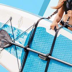 Surfboard Strap Adjustable Standing Paddle Carrying Belt Pallet Shoulder for Kayaking Surfboards Shoulder Carry Sling