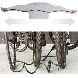 Bike Lock Digit Code Combination Bicycle Security Lock Anti-theft Bold Steel Cable Spiral MTB Bike Cycling Bicycle Lock XA39Q