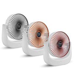 Mini USB Charging Fan 3 Speed Adjustable Handheld Air Cooler 360 Rotation Fan