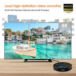 2020 Newest TV Box HK1MAX ,Android 9.0 Quad Core ,RK3328 Chip , 4GB+64GB ,Support 2.4G+5G WIFI , BT4.0 5000+Channels 7000+VOD