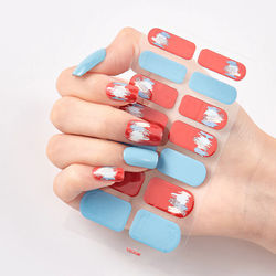 High Quality DIY Handmade Nail Sticker Waterproof Gradient Decal Decal Manicure Skill Ornament