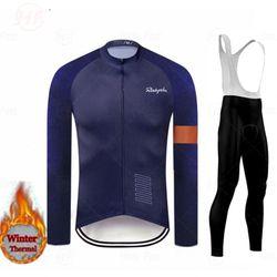 Pro Team Rcc Cycling Clothes Winter Fleece Clothing Long Sleeve Jersey Set UNinform Thermal Fleece Skinsuit Ropa De Hombre