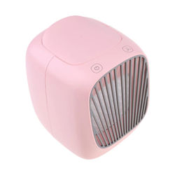 2021 New Portable USB Air Conditioner Air Cooler Humidifier Purifier Light Air Cooling Fan for Office Home Desktop