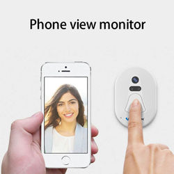 100% Brand New and High Quality Home Door Ring WiFi Wireless Visual Camera Smart Doorbell Security Monitor