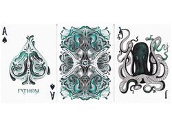 Ellusionist Fathom Playing Cards Bicycle Deck USPCC Collectable Poker Magic Card Games Magic Tricks Props for Magician