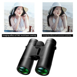 10x42 Professional HD Telescope Binoculars High Magnification BAK4 Micro Night Vision Telescope for Outdoor Camping Travel