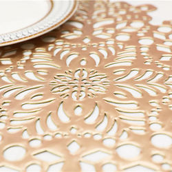 INS Placemat Coaster Insulation Table Lats Pads Plastic Table Placemat Non-slip Mats Coffee Tea Place Mats M