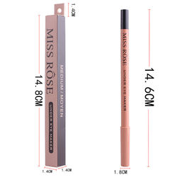 MISS ROSE is not easily stained with cup eyeliner, silkworm pen, Concealer pen, cross border eye liner.