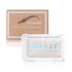 New 3D Feathery Brow Styling Soap Waterproof Makeup Eye Gel Long Tint Natural Lasting Cosmetics Wax Eyebrow Brow Setting B0P1
