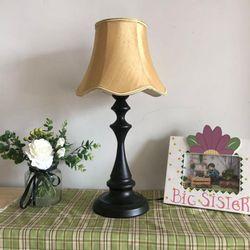 European Court paint black base noble nostalgic lampshade series living room lamp reading desklamp