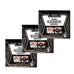 5pcs Beard Shampoo Black Beard Shampoo Beard Coloring Liquid Beard For Men Beard Care