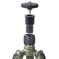 Camera Photography Tripod central axis monopod accessories ball head Connecting disc mounting base bearing plate holder