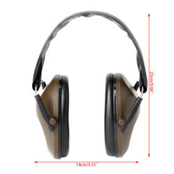 Adjustable Headband Light Weight Foldable Hearing Protection Shooting Sports Ear Muffs Noise Cancelling Earmuff