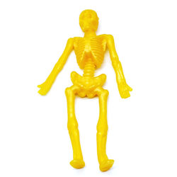 100Pcs Stretchy Skeletons Toys 8 Glitter Color Sensory Bendable Toy Party Favors