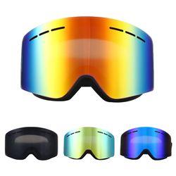Ski Goggles Double Layers UV400 Anti-fog Big Ski Mask Glasses Skiing Snow Men Women Snowboard Goggle