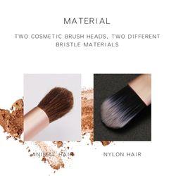 Nicoo Makeup Brush Beauty Foundation Brush Eye Shadow Brushes Make Up Concealer Blusher Horse Hair Professional Make Up Brush