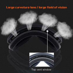 Anti-UV Anti-fog Ski Goggles Men Women Snowboard Goggles Youth Winter Skiing Sport Goggles Outdoor Glasses