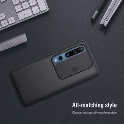 NILLKIN for Xiaomi Mi 10 10 Pro Mi10 case CamShield Case Slide cover for camera protection Back cover case for Mi10 Pro 5G case