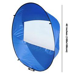 "42"" Downwind Kayak Wind Sail Kit with Storage Bag Foldable Sail Paddle Board Accessories for Boats Kayak Sailboats Canoe"