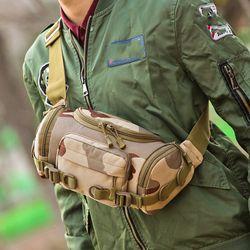 Tactical Waist Bag High Capacity Travel Army Bag Men Outdoor Camping Military Backpacks Rucksack Men Mochila Milita Nylon