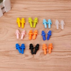 Durable Super Soft Silicone 2pcs Silicone Ear Plugs Anti Noise Snore Earplugs Comfortable For Study Sleep Easy to Insert
