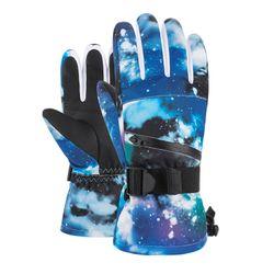 Skiing Gloves Unisex Snow Ski Winter Gloves Waterproof Full Fingers TouchScreen Cold-Proof Anti-Slip Warm Gloves Windproof