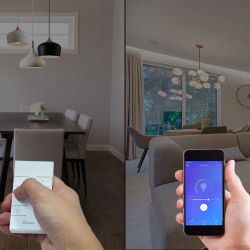 DIY Smart WiFi Light LED Dimmer Switch eWeLink APP Remote Control 1/2 Way Switch,Works with Alexa Echo Google Home