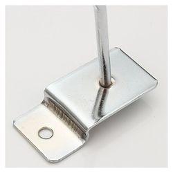 25 x Slatwall Single Hook Pin Shop Display Fitting Prong Hanger
