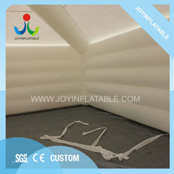 10LX10WX5HM Waterproof PVC Tarpaulin Outdoor Inflatable Tents With Arched Window