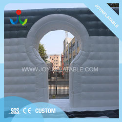 New Design Honeycomb Finish Inflatable cube Gray White Giant Inflatable Tent Waterproof Air House For Special Events
