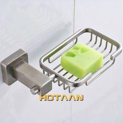 HOTAAN Free shipping 304 Stainless steel Bathroom Accessories Set,Robe hook,Paper Holder,Towel Bar,soap basket,bathroom sets