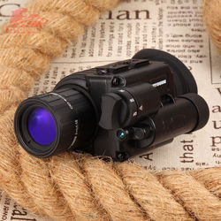 ZIYOUHU Gen 2 / Gen 3 Infrared Night Vision Monocular Device Hunting Scope DT-MHB-3 Knob Type Night Vision Goggles Green Imaging